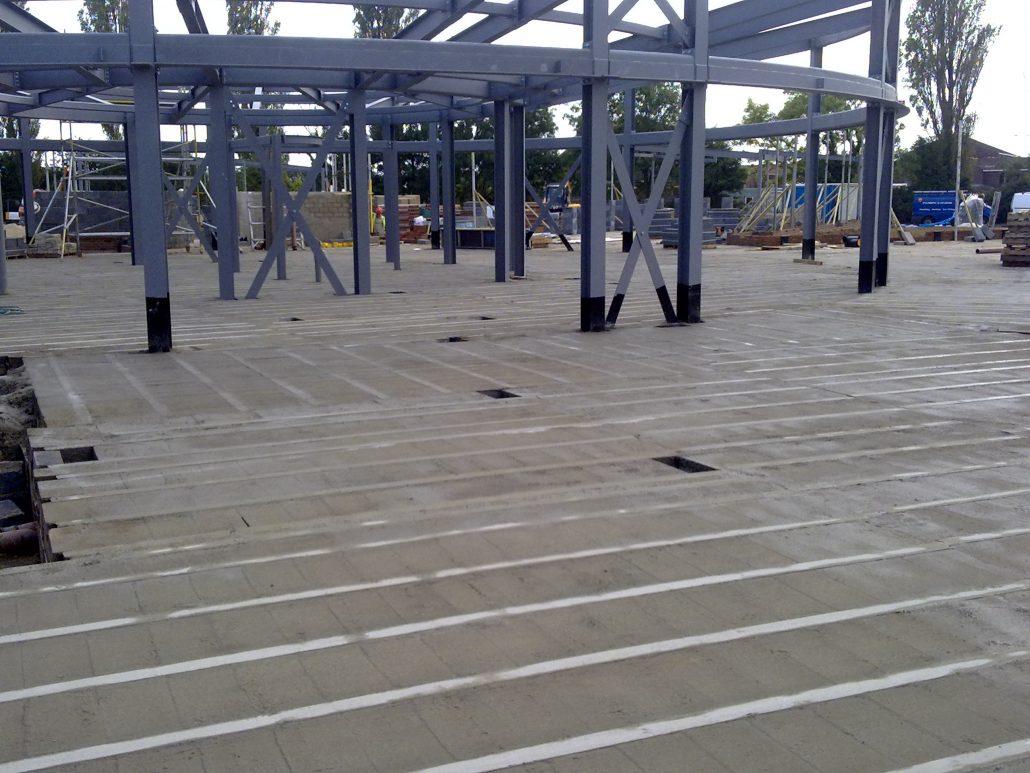 Precast concrete beam and block floor cbs precast limited for Cbs concrete
