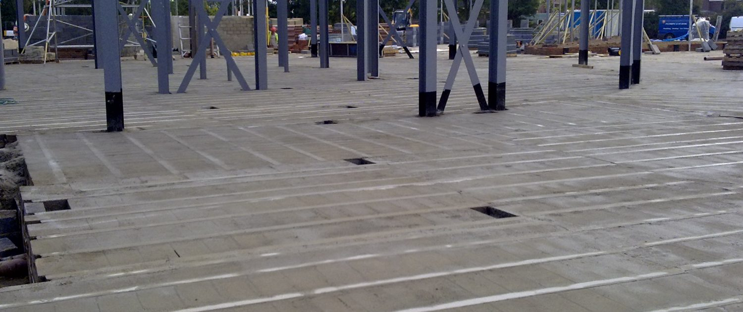 Precast Concrete Beam and Block Floor