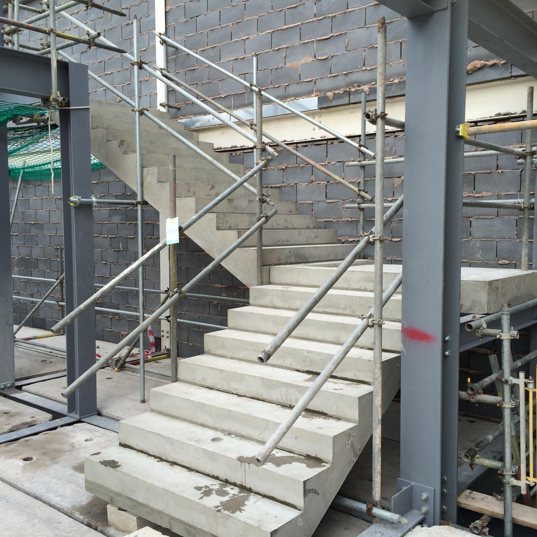 Concrete stair cbs precast limited for Cbs concrete