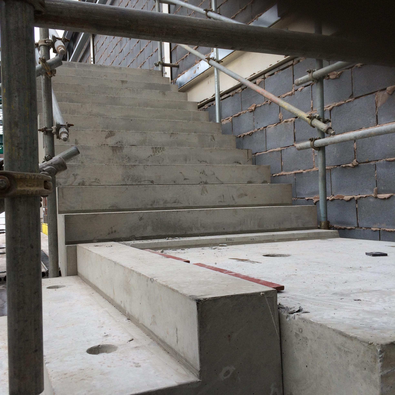 Concrete stair 2 cbs precast limited for Cbs concrete